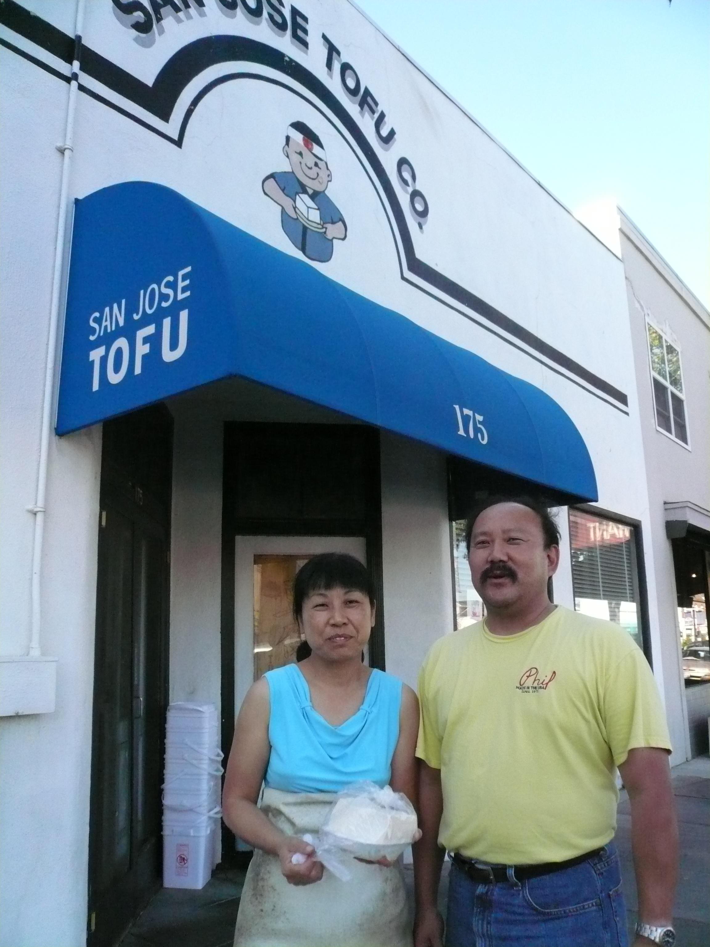 野崎與陳文英接手豆腐店後,幾乎沒休假,現在終於要稍微享受生活。(記者黃美惠/攝影)