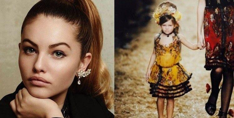 法國模特兒黛蘭布蘭多也曾被稱為「世界上最美女孩」。(翻攝自Thylane Blondeau Instagram)