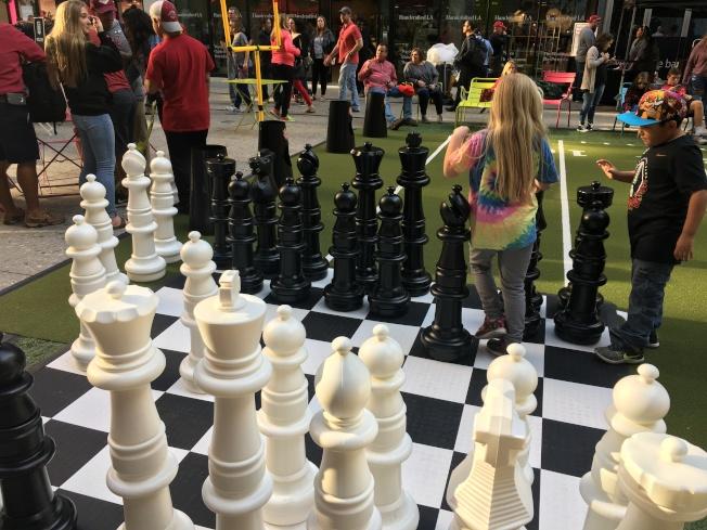 供小朋友玩的象棋。(記者王若然 / 攝影)