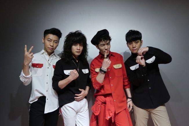 獅子合唱團跨年在湖南衛視。(圖:華納音樂提供)