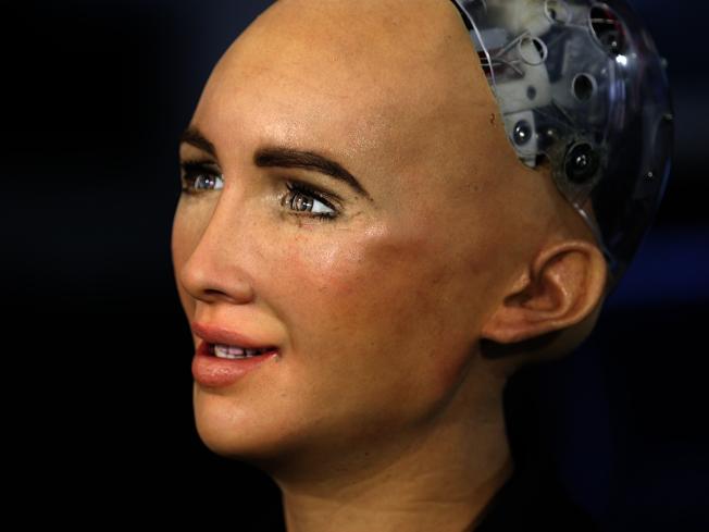 蘇菲亞(Sophia)是有史以來第一位有身分證的機器人 (網路照片)
