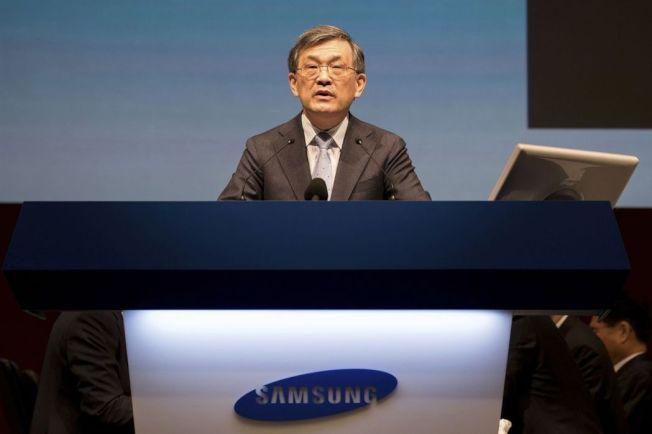 權五鉉,南韓去年最高薪酬企業主管。美聯社
