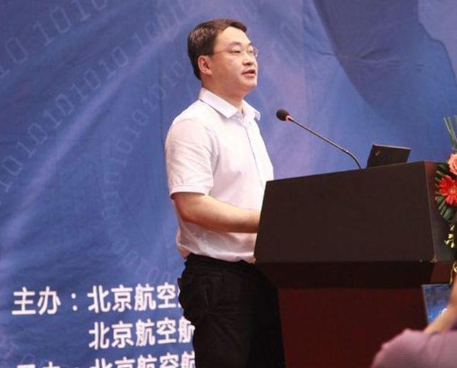 北航研究生院副院長陳小武教授為北航第九屆MBA年會開幕致辭。(取材自MBA中國網)