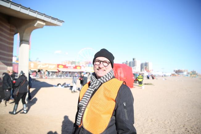 北極熊俱樂部主席Dennis Thomas。(記者洪群超/攝影)