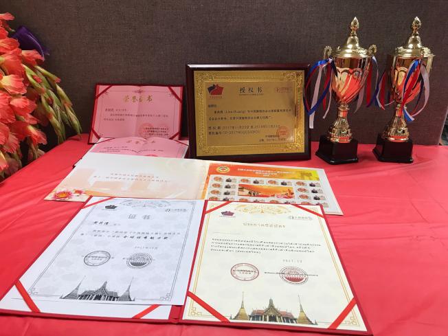 中國旗袍協會北卡總會雖僅成立一年多,已成果碩然。(記者王明心/攝影)