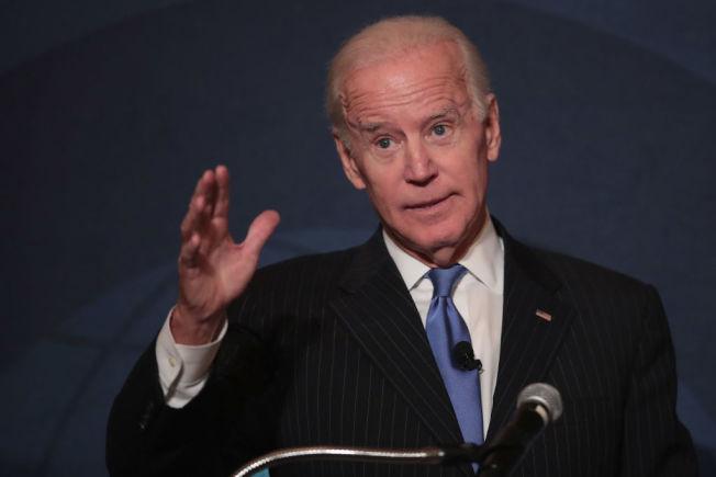 前副總統白登放話,2020年可能再出馬角逐白宮。(Getty Images)