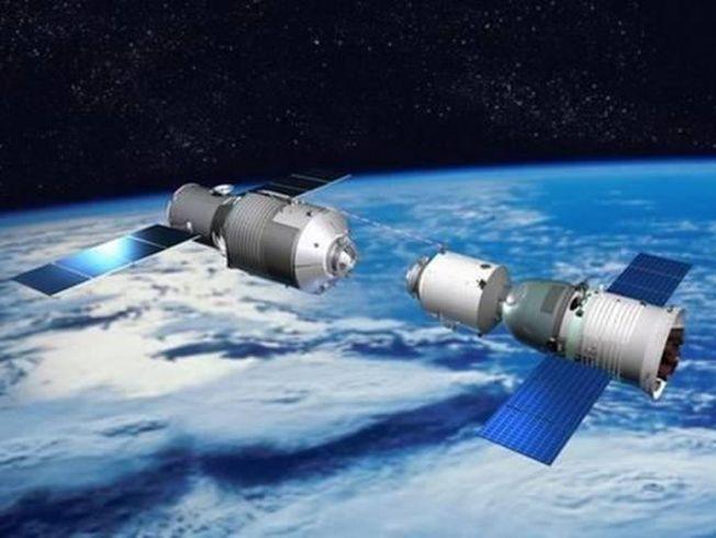 中國太空站「天宮一號」料於今年年初墜回地球。(取自中國載人航天工程官網)