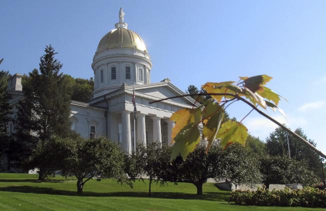 佛蒙特州人口增加最快,圖為佛蒙特州州議會。(美聯社)