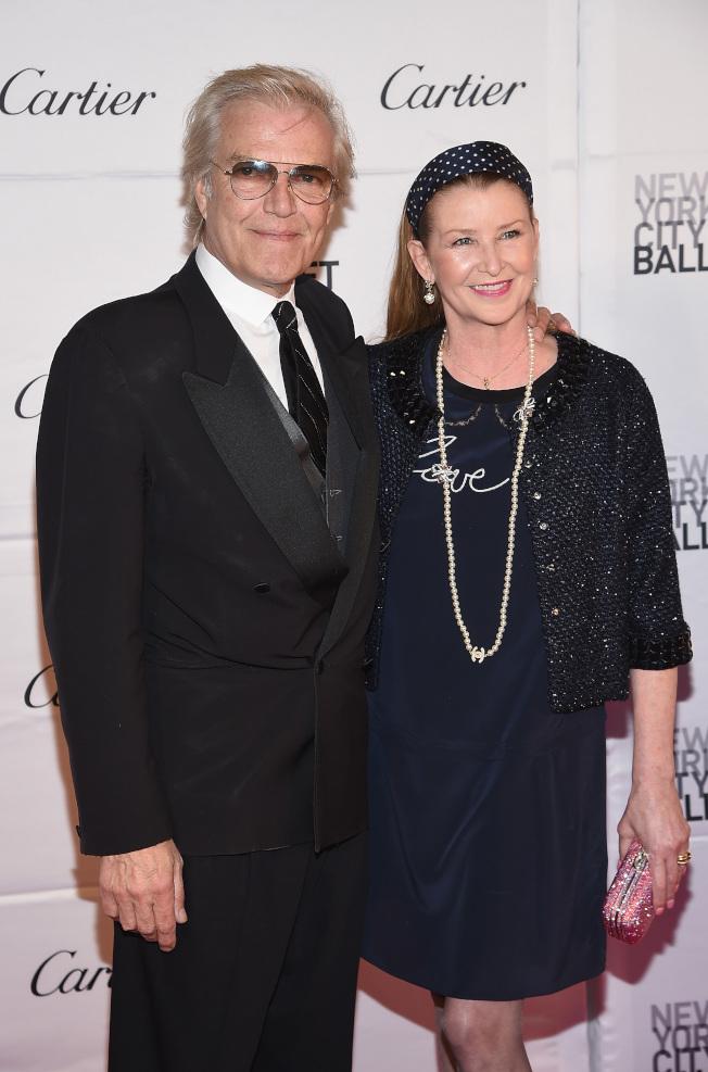 圖為紐約市芭蕾舞團藝術總監馬丁斯與友人合影。(Getty Images)