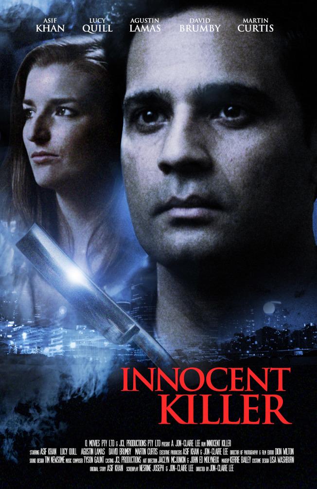 李光弼所執導的「無辜的殺手」(Innocent Killer)電影海報。(圖:李光弼提供)