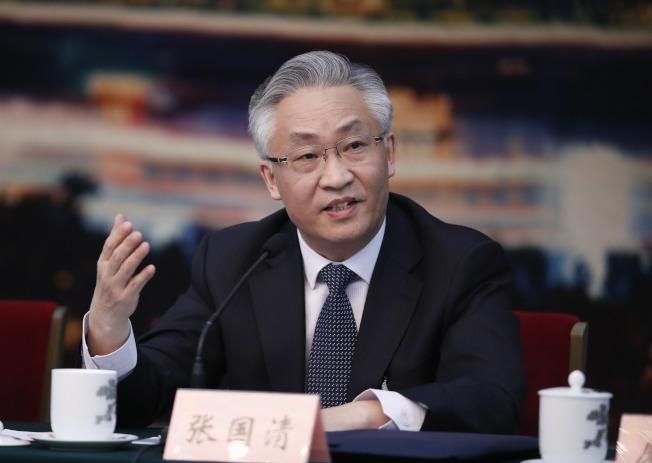 天津市16屆人大常委會舉行第41次會議,決定任命張國清為天津市副市長。(中新社)