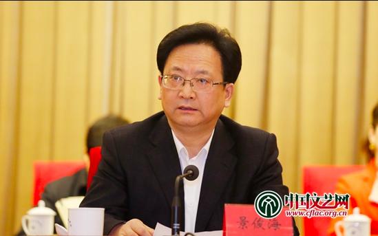 即將接任吉林省長的景俊海曾訪問台灣。(取材自中國文藝網)