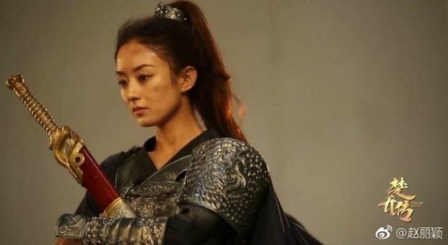 趙麗穎主演「楚喬傳」惹來不少爭議。(取材自微博)