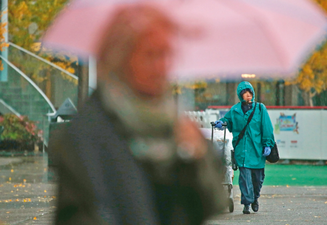 氣象學家預測,舊金山3日上午將出現2018年第一場風雨,灣區周三也會開始降雨。(Getty Images)