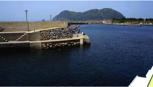 日本加唐島。取自YouTube