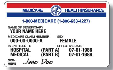 即使您有一張聯邦政府的紅藍卡(Medicare),還必須購買一個補助保險。