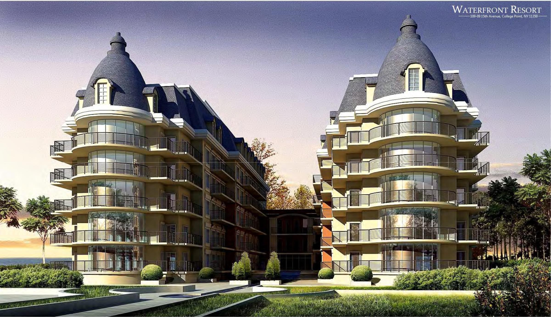 「海灣豪庭」設計圖。(開發商提供)