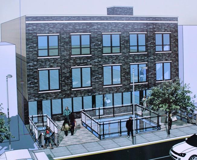 大學點大道20-16號的改建案設計圖。(開發商提供)