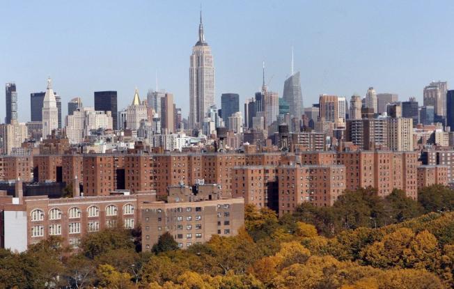史岱文森鎮和彼得古柏村是曼哈頓的兩個大型樓群。(路透)