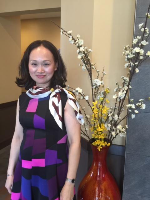 麻州華裔母親陳珍妮感染流感引發嚴重肺炎去世。(取自Gofundme網站)