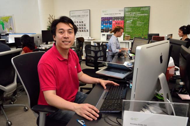 許居逵為紐約市科技領袖顧問委員會唯一華裔委員。(本報檔案照)