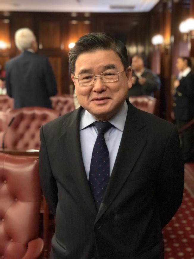 顧雅明成為科技委員會主席。(記者洪群超/攝影)