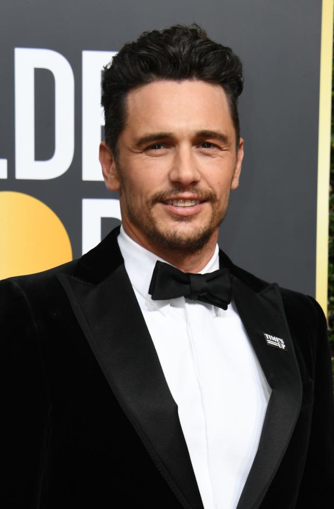 已有五名女性指控好萊塢金球獎最佳男主角法蘭柯有性騷擾不當行為。(Getty Images)