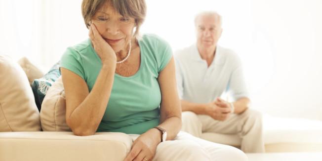 50歲以後離婚的夫婦,面臨特別障礙。(Getty Images)