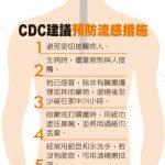 1張圖 這7招 不讓流感找上你
