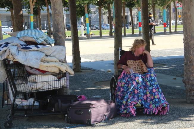 舊金山遊民問題持續引發關注,市府也獲得聯邦4140萬撥款。(本報檔案照片)