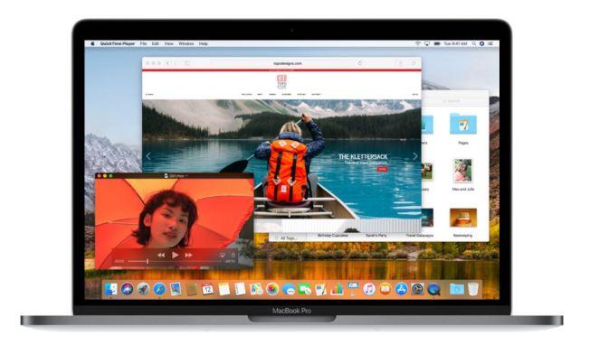 蘋果MacOS High Sierra新操作系統再次被曝存在重大安全漏洞,駭客可以使用任何密碼進入App Store應用軟體商店。(取材自蘋果官網)