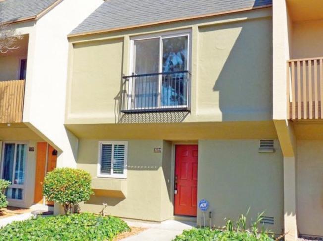 灣農島這棟三臥房連棟屋,目前正在網上掛牌招租,月租要3200元。(圖:房地產公司提供)