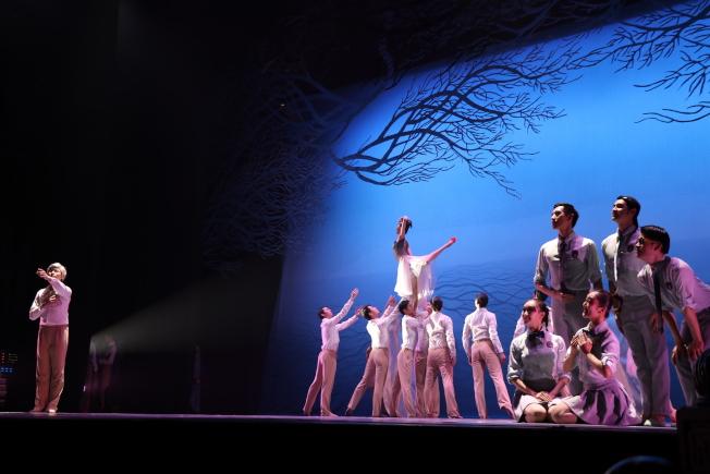 以環保為主題,舞劇「朱䴉」傳播愛的呼喚。(記者劉晨懿之/攝影)
