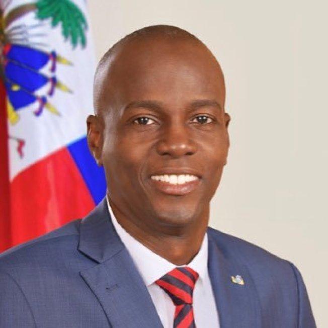 海地總統摩依士(Jovenel Moise)。(圖取自推特)