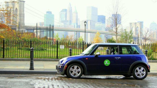 市府與短期租車公司合作,將在十個社區推行汽車共享。(取自Zipcar網站)