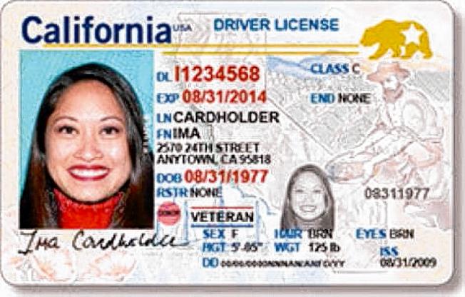 加州車管局 (DMV)本月即將開始接受「全真身分證」(Real ID,圖樣,車管局提供)的申請。由2020年10月起,搭乘所有商業航班(包括國內航班)都得使用這種新的身分證明。