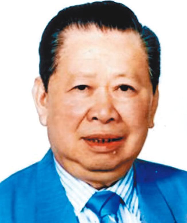 見證舊金山華埠百年變遷的僑領譚廣生辭世,享壽104歲。(檔案照片)