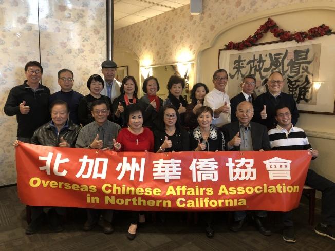 北加州華僑協會13日中午召開第一次理事顧問會議與餐敘,討論未來一年希望舉辦的活動。(記者林亞歆/攝影)