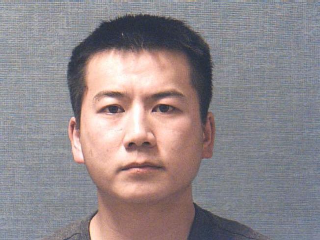 涉嫌打死五歲女兒的俄亥俄州Angs中餐館東主趙良傑,日前由法官宣判處以12年徒刑。 (警方提供)