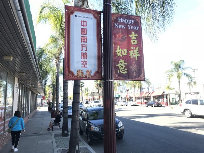 洛杉磯世界日報年節展華洋商號齊參與,與民共慶。(記者高梓原/攝影)