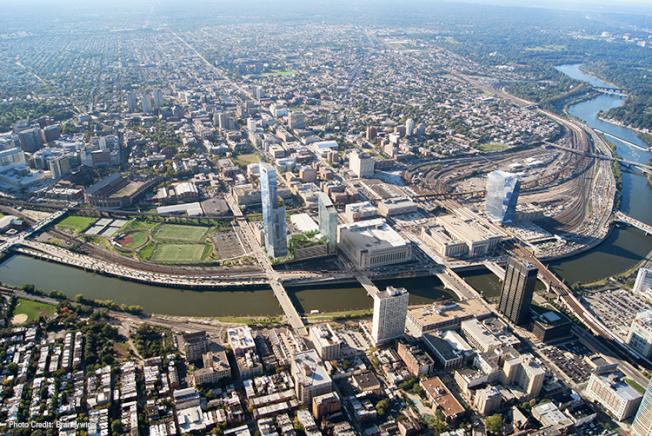 費城為亞馬遜提供熱門的三大選址,其中包括繁忙的30街火車站。(取自費城網站)