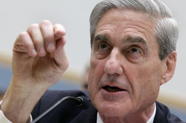 聯邦調查局前局長穆勒在國會作證的資料照片。(路透)