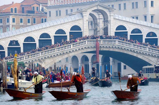 義大利「水都」威尼斯(Venice)是世界著名觀光景點。(圖/路透)
