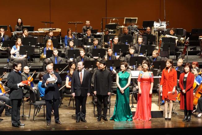 眾多嘉賓參加巴德美中音樂研習院開幕慶典音樂會。(活動方提供)