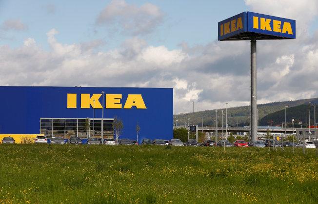 世界各地可見到宜家家居(IKEA)專賣店。(歐新社)