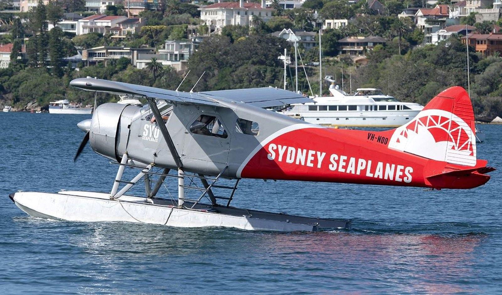「雪梨水上飛機」(Sydney Seaplanes)為澳洲最大水上飛機業者。(歐新社)