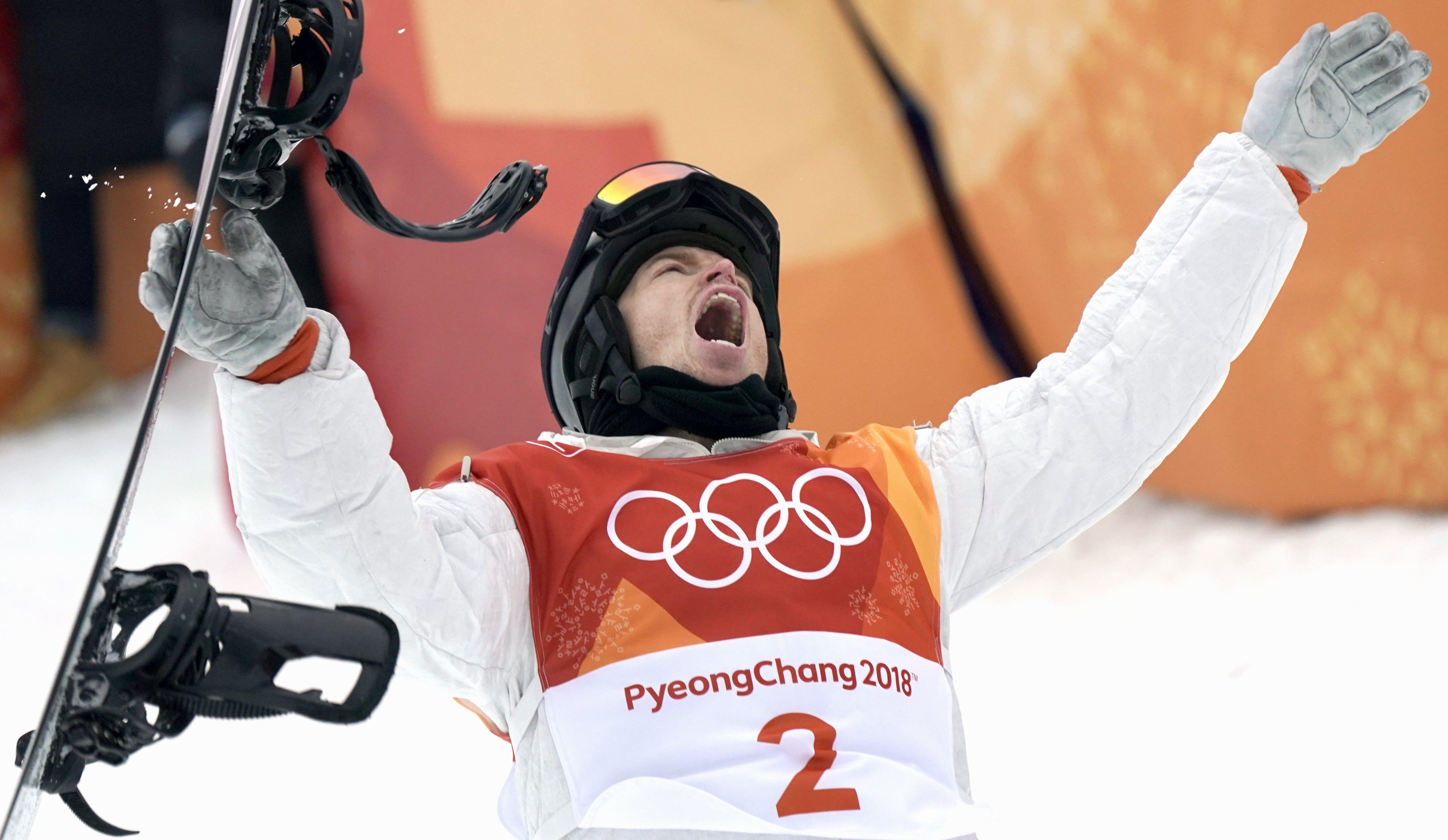 懷特在平昌冬奧再次證明自己仍是滑雪界中最閃耀的傳奇。歐新社