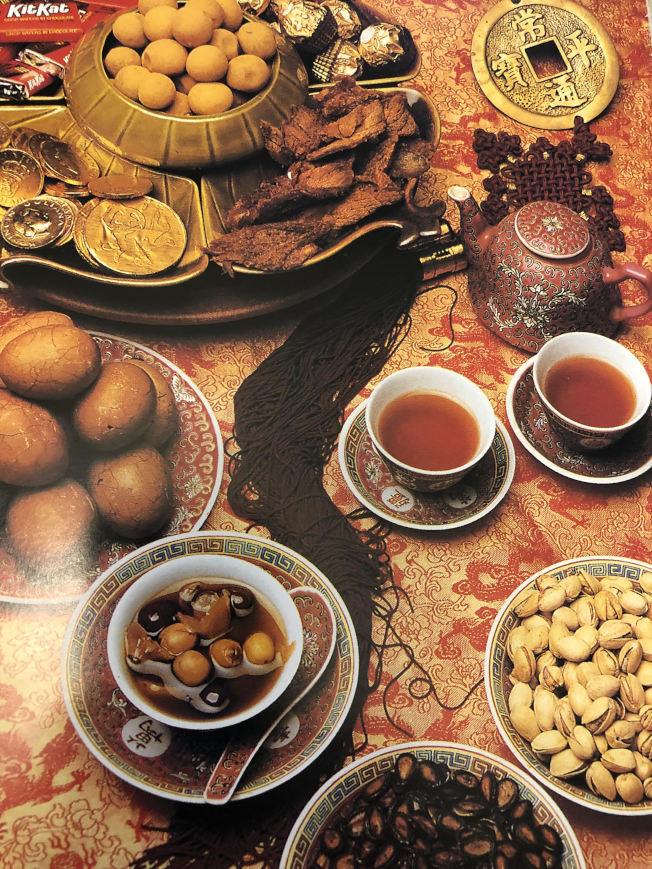 新年菜品「三元棗茶」。(林慧懿提供)