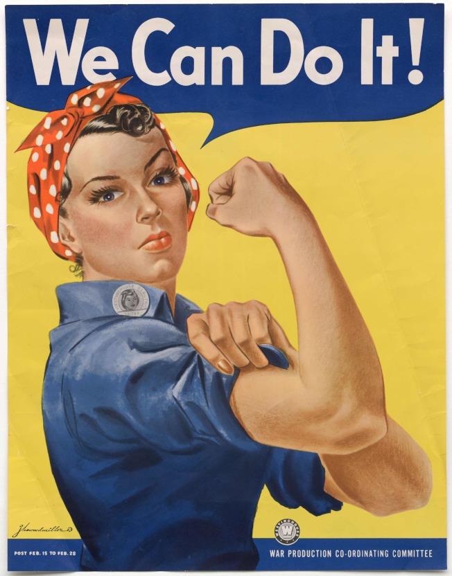 「我們做得到」的原始海報。(Getty Images)