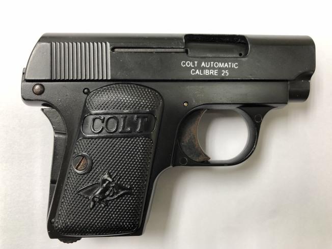 林嫌購買道具槍在換裝槍管等零組件。(記者蕭雅娟/翻攝)
